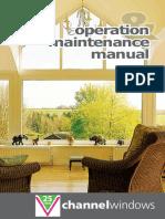 Channel Windows Operations & Maintenance Manual.pdf