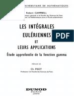 Robert Campbell-Les integrales euleriennes et leurs applications _ Etude approfondie de la fonction gamma.pdf