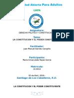 TAREA NO. 4-LA CONSTITUCION Y EL PODER CONSTITUYENTE.doc