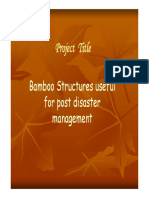 ARTI BambooStructuresUsefulForPostDisasterManagement