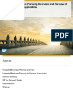 292 Integrated Business Planning Overview and Preview of the New Demand Application (2)