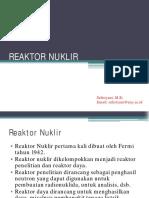 3 Reaktor Nuklir