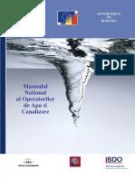 Manual National Al Operatorilor de Apa Si Canal