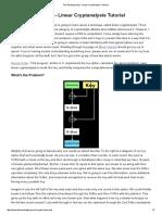 The Amazing King - Linear Cryptanalysis Tutorial.pdf