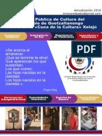 Política Cultural Municipal Xela