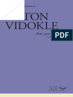 VIDOKLE, Anton - Arte Sem Trabalho
