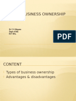 4 Types of Business Ownership.ppsx