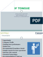 Taste of Tongue - Strategy Report - Sept 30' 2015.pptx