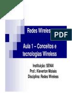 Slides - Redes Wireless
