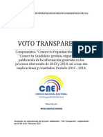 Sistematización del proyecto Voto Transparente