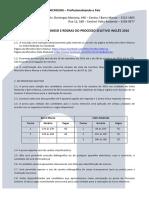 Termo de Compromisso e Regras do Processo Seletivo Inglês 2016 - Microlins