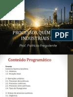 Processamentos Químicos Industriais