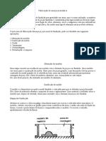 Relatório de Fundição