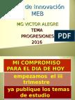 Progresiones Alegre 2016