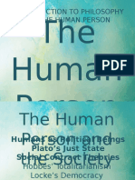 Human Person and the Society
