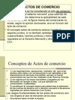 Acto de Comercio y Contabilidad Mercantil Nicaragua
