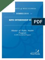 MPH Internship Guide