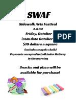 SWAF Flyer