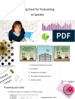 Designing a Better Forecasting Spreadsheet Jo Sparkes