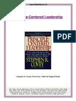 Principle Centered Leadrship Stephen Covey.pdf