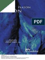 Fedón (EUDEBA) - Platón (Conrado Egger Lan)
