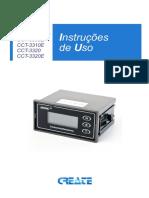 Manual Do Usuario - Condutivimetro Create Cct-3300 Rev00 Portugues