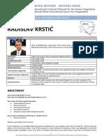 Krstic Case