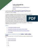 Impostos de Competencia Da União, DF e Municipio