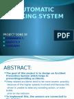 Automatic Braking System using eye blinking movement