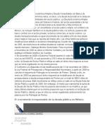 Los saldos de Deuda Económica Amplia y Deuda Consolidada con Banco de México se definen en términos netos.docx