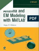 Antenna and EM Modeling with MATLAB - Sergey N. Makarov.pdf