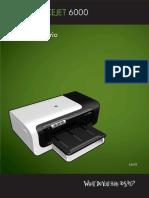Manual HP Officejet 6000