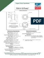 DataSheet Sensor de Oxigeno (7oxv)