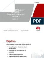 Quidway MA5200G System Overview and Hardware