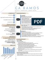 becca ramos creative resume