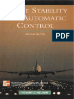 Flight Stability and Automatic Control Second Edition Robert C. Nelson