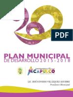 Plan Municipal de Desarrollo Acapulco  2015-2018