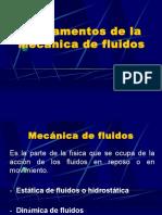Fundamentos de La Mecánica de Fluidos