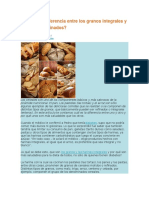 Diferencia Entre Grano y Cereal