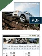 Toyota 4Runner Brochure