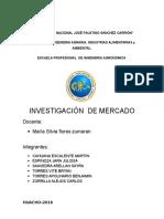 Investigacion de Mercado Para Piña - Mercadotecnia