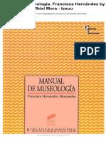 Manual de Museologia. Francisca Hernández