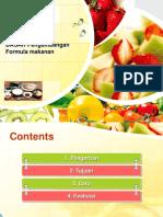 Dasar Formula Makanan