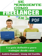 Se Independiente Como Freelancer en 30 Dias