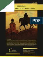 Przegląd Europejskiej Kultury Prawnej Nr 3