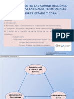 Relaciones Entre El Estado y CCAA