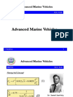 Advanced Marine Vehicles Mm753 2013 2014 Lecture 10k