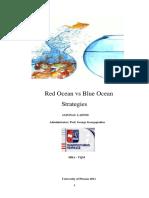 Red Ocean vs Blue Ocean Strategies
