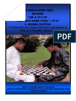 THE FREE E-BOOK THAT REVIEWS THE A TO Z OF DRAUGHTS GAME (PARTS 1 TO 3)