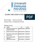 Islamic and Asian Civisilations 1